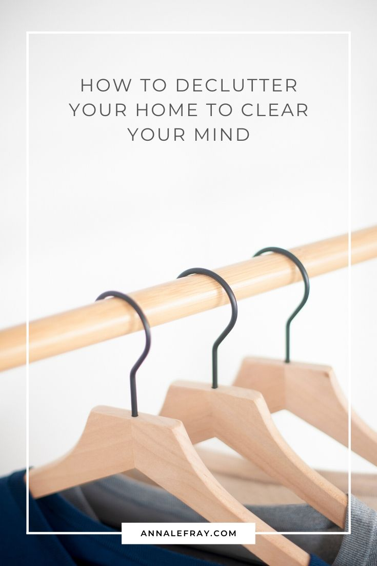 How to declutter your home to clear your mind