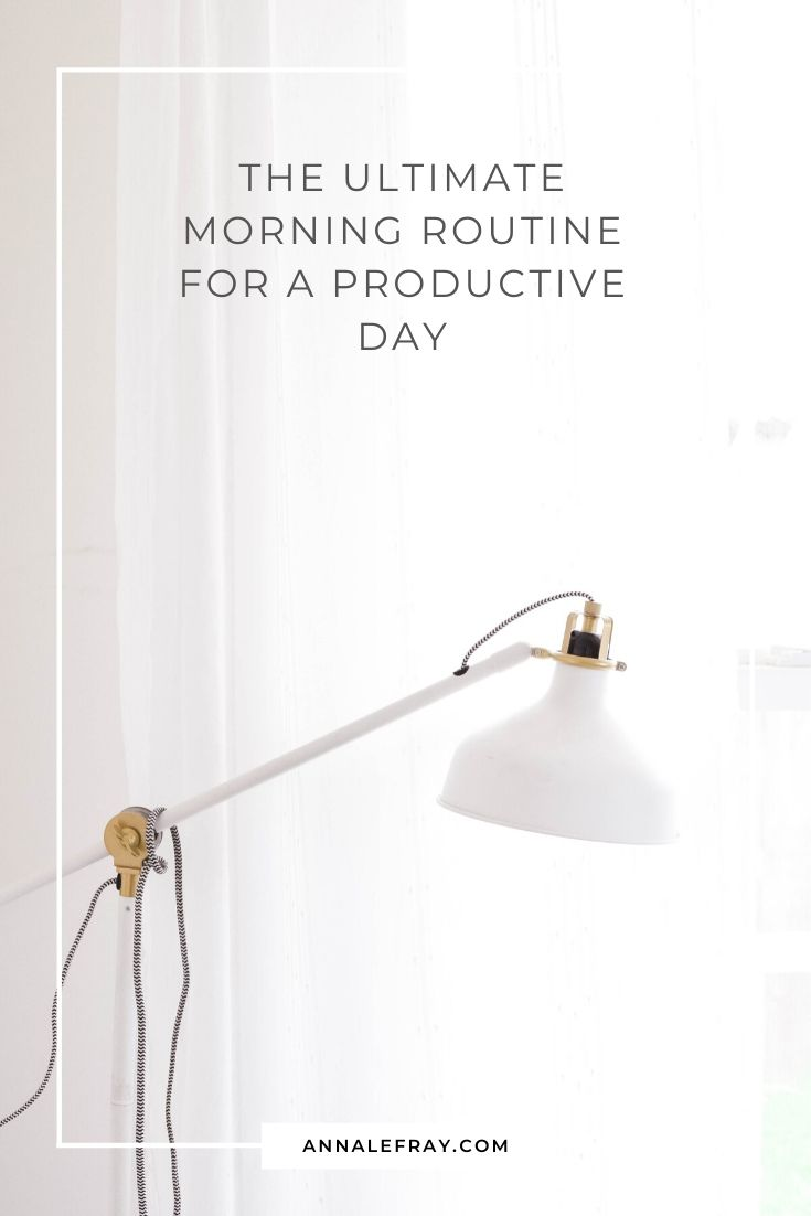 The Morning Routine for a Productive Day